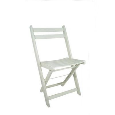 holzklappstuhl wei. Black Bedroom Furniture Sets. Home Design Ideas