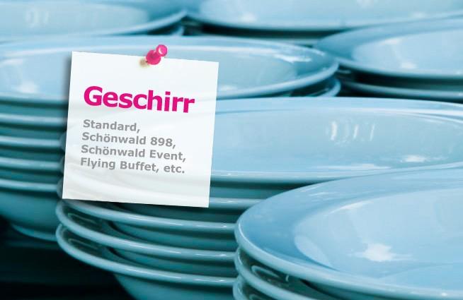 Geschirrverleih, Teller und Geschirr mieten in Hamburg ~ Geschirr Mieten